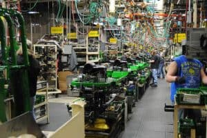Assembly Line - Lawn Equipment Pic, Production Line Layout Design, Manufacturing Assembly Line Design, Assembly Line Layout Design, Production Line Design, Assembly Line Design,