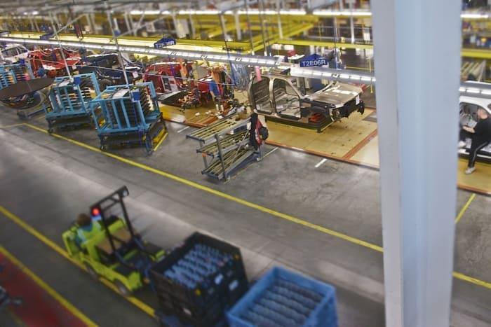 Lean Manufacturing - Automotive Pic