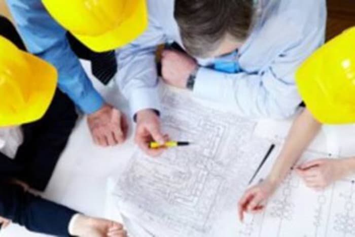 Industrial Engineers Review Drawing Pic