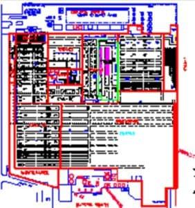 Automotive Warehouse Layout Pic