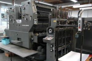Printing Machine Pic