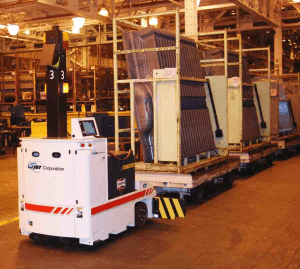 SGV Tugger Trailer Material Delivery, Self Guided Vehicle Material Handling, Sgv Part Delivery, Self Guided Vehicle Material Delivery, Automated Guided Vehicle Material Handling, Agv Material Delivery, Agv Part Delivery