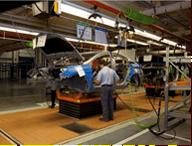 Automotive Assembly Line Skillet Conveyor Picture
