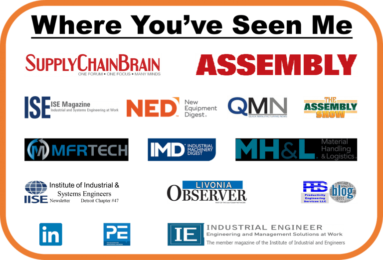 Where you've seen me infographic.