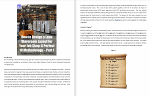 How to Design a Lean Storeroom Layout for Your Job Shop: A Perfect 10 Methodology – Part 1 – Thumbnail Link to Article Link to Article